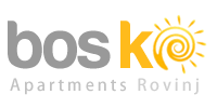 logo bos-ko apartments in rovinj