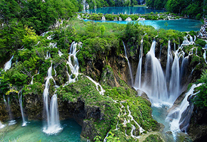 Stunning Waterfalls at Plitvice Croatia
