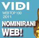 nominirana stranica vidi top 100